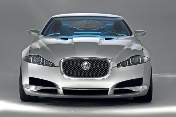 Jaguar C-XF front end styling...