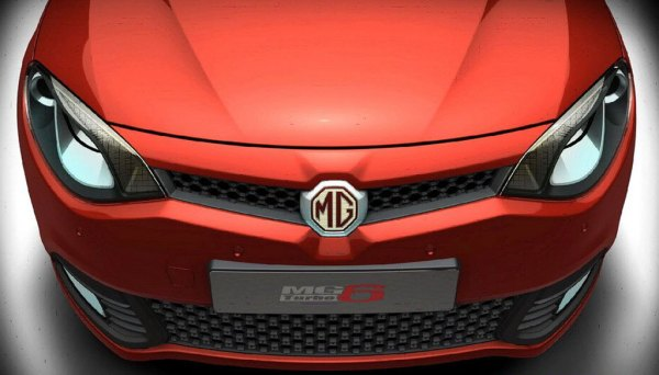 MG6's octagonal badge is neatly integrated