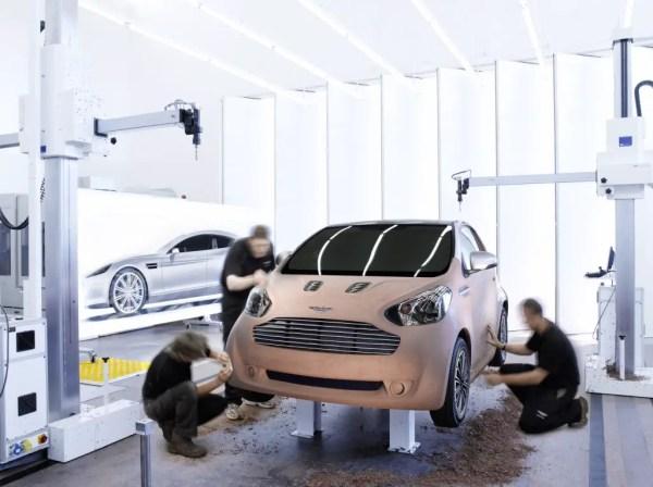Aston Martin Cygnet - a Toyota iQ-based commuter concept car