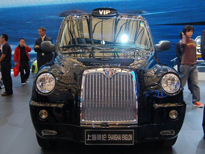 Geely Group's version of the iconic London Taxi - the Shanghai Englon TX4.