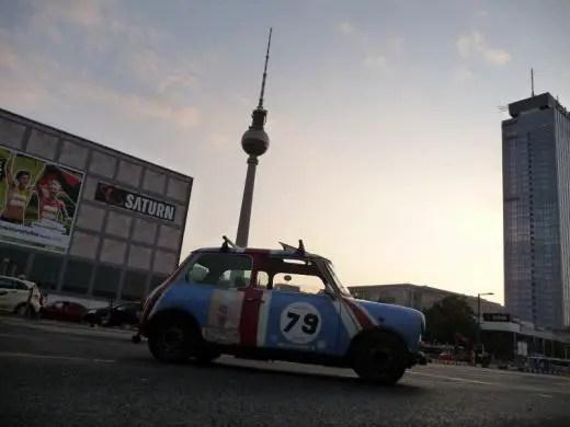 In front of Berlin's Fernsehturm