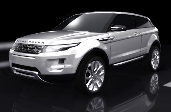 The Range Rover-badged production version of the LRX Concept may look like this...