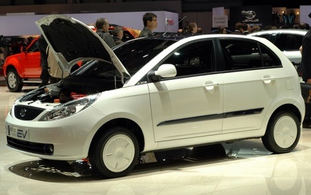Tata's Indica Vista EV will be built in the UK.