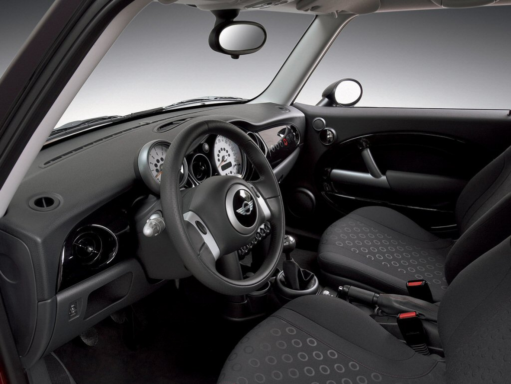MINI Interior as styled by Rover's Wyn Thomas