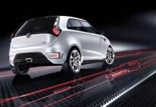 MG ZERO Concept rear end...