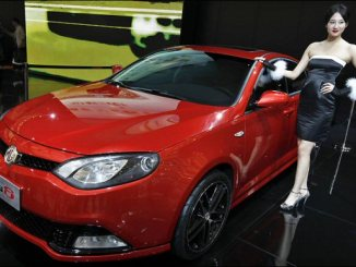 MG6 will spearhead the marque's international push...