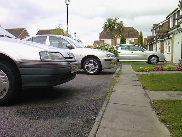 The Rover 25 next door