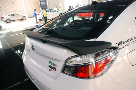 MG6 Sports new spoiler