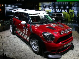 MINI Countryman WRC car