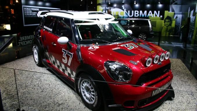 MINI Countryman WRC car