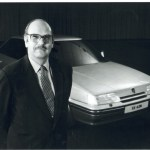 Roy Axe and the Rover 800 Sterling - a design he oversaw following his arrival at Austin Rover in 1982.