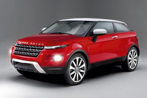 Autoexpress rendering of Range Rover's MINI rival