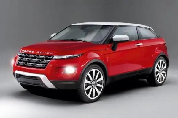 Autoexpress rendering of Range Rover's MINI rival