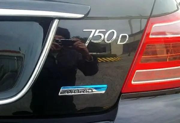 Roewe 750 Hybrid
