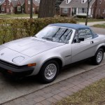 Triumph TR7 with less than 800 miles on the clock