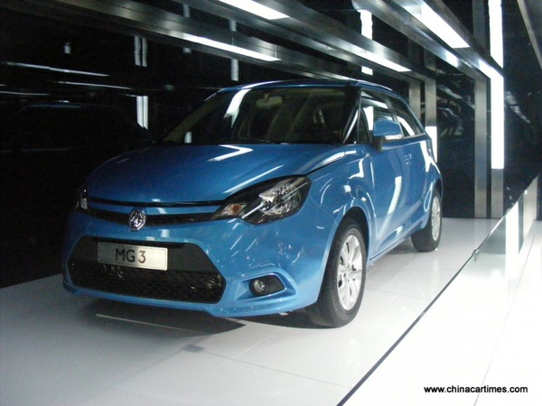 MG3: launches today in China