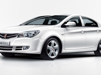Roewe front three-quarter view