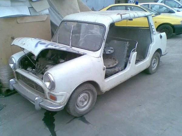 The Mini Beach Car