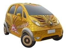 Titan's golden Tata Nano
