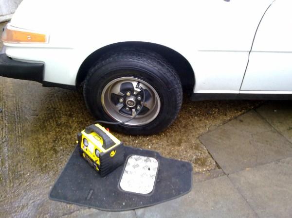 Rover SD1 tyre