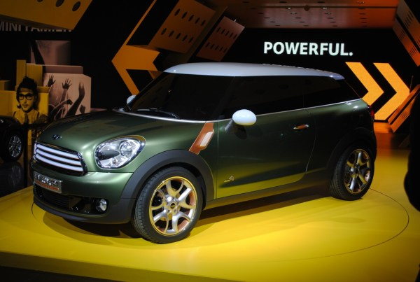 MINI Paceman confirmed for production