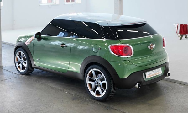 MINI Paceman will be built in Austria
