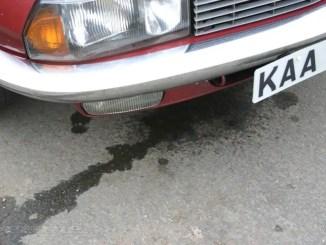 NSU Ro80 has sprung a leak