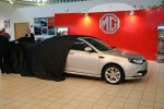 MG6 saloon is unveiled