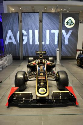 Lotus Renault GP car 2011