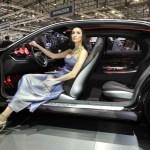 Bertone Jaguar B99 Concept - room for long legs