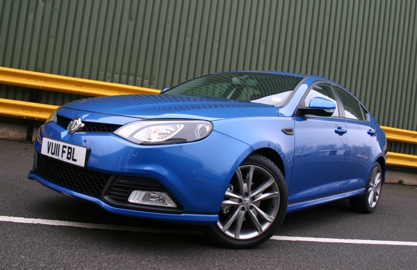 MG6 at launch back in Marcg 2011
