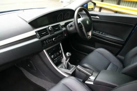 MG6 interior