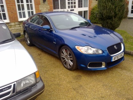 Out with the Saab Turbo and in with a Jaguar?