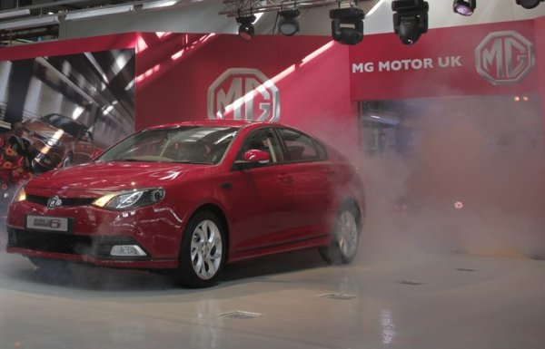 MG6 production underway at Longbridge