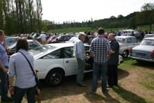The SD1 on display at Longbridge - The public loved it!