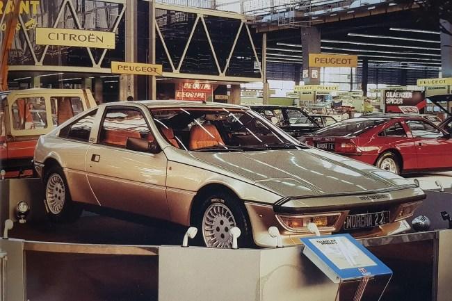 Talbot Matra Murena Paris 1980
