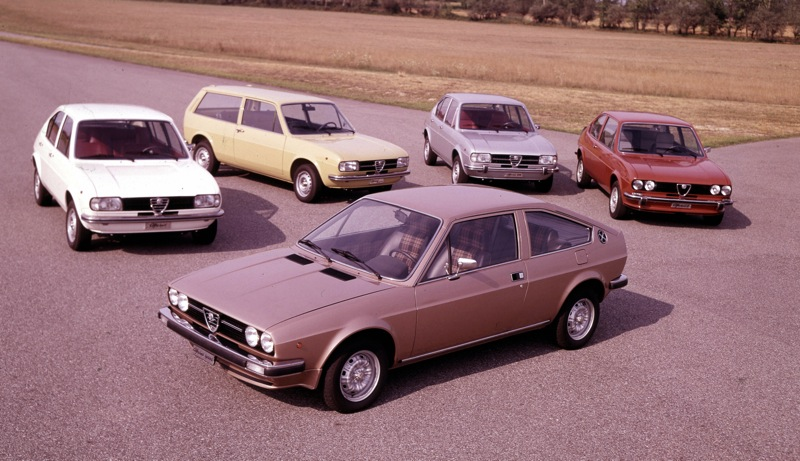The cars : Alfa Romeo Alfasud development story