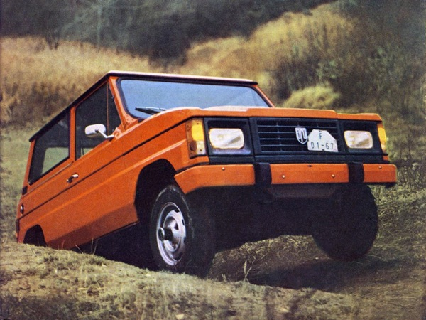 ARO 10 - or Dacia Duster as we came to know it in the UK