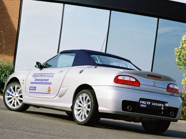 MG TF 200 HPD Concept