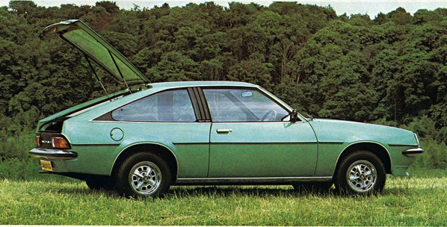 Cavalier Sportshatch was a stylish addition to the range in 1978