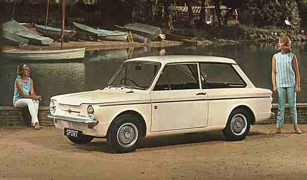 The cars : Hillman Imp development story