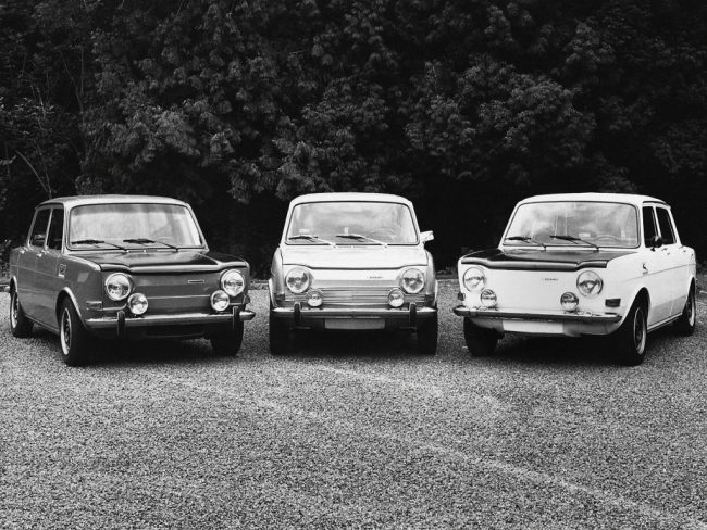 France's Mini-Cooper. The Simca 1000 Rallye enyoyed a long and successful run, and at the end of its life, it could outrun the recently launched Volkswagen Golf GTi and Opel Kadett GT/E.