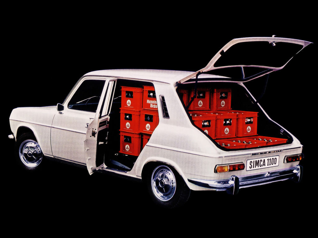 The cars : SIMCA 1100 development story