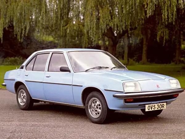Vauxhall Cavalier GL saloon: cleanly styled by Wayne Cherry.