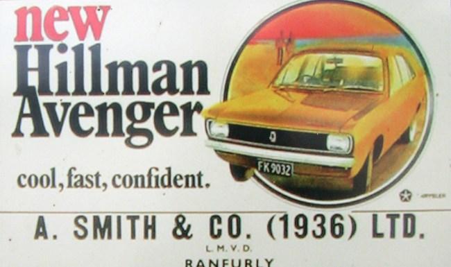 1970_Hillman_Avenger_FK9032