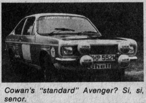 1976 Cowan Hillman Avenger