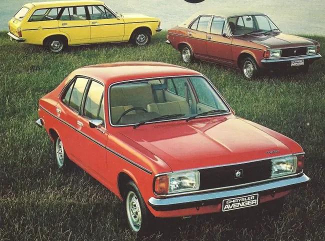 1980 Chrysler Avenger models