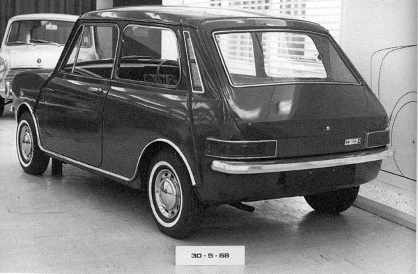1968 Mini Clubman proposal