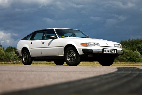 Rover 3500 caused a storm at Gaydon this weekend.