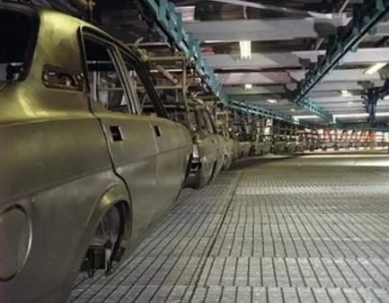 Morris Marina production at Cowley